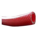 Manguera Compresor Aire 1/2 Pvc Con Malla Roja