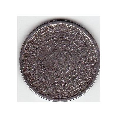 Monedas de 10 Centavos Mexico México Vieja Moneda Valor 10