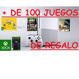 Xbox One Modelo Slim 4 K + 121 Juegos Originales De Regalo!!