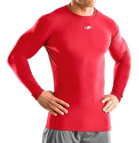 compra especial reputación confiable en stock Camiseta Térmica Manga Larga Running De Hombre Deportes Knex ...