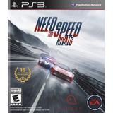 Need For Speed Rivals Juego Ps3 Original Play 3 + Español