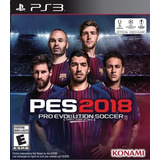 Pro Evolution Soccer 2018 Pes 18 Juego Ps3 Original