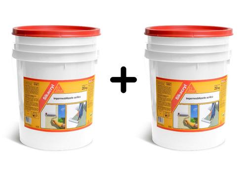 Membrana Liquida Impermeabilizante Sikacryl 20k+20k