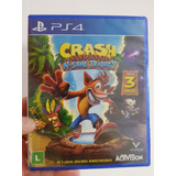 Ps4 Fisico Crash N Sane Trilogy Audio Español Nuevo Sellado