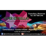Alquiler Castillo Inflable, Cama, Tejo, Futbolito, Algodón