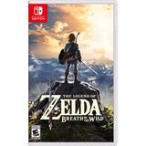 Juego Nintendo Switch Legend Of Zelda Breath Of The Wild