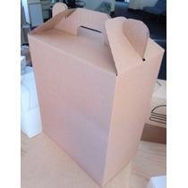 Canasta Navideña - Caja De Carton