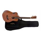 Guitarra Electro Acustica Sigma Travel De Viaje
