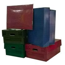 Cajas De Carton Varios Colores 42 X 32 X 20 Cm