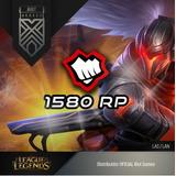 1580 Riot Points Las League Of Legends Lol