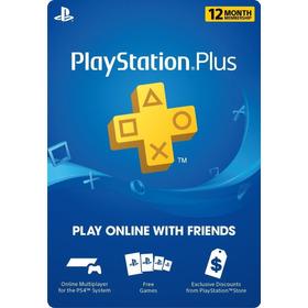 Playstation Plus - Psn - 12 Meses - 1 Año - 365 Dias