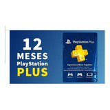 Playstation Plus 12 Meses 1 Año Original Key Código