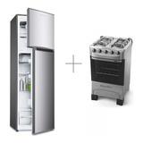 Refrigerador Smartlife Silver Frio Seco + Cocina Tem Yanett