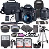 Kit Canon T7 Con Lente 18-55 Y 75-300/2 Memorias /2 Bateria/