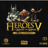 Heroes V 5 Might And Magic Pc Gold Edition Digital