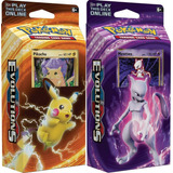 Pokemon Tcg Deck Español Sol Y Luna Original - C/u