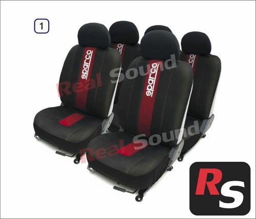 Fundas forros cubre asiento para auto sparco original 2574 tpq3k precio d uruguay - Fundas para auto ...