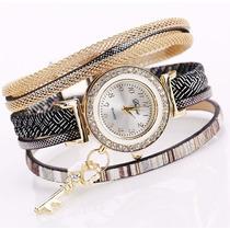 Reloj Pulsera De Mujer Con Brazaletes Y Brillantes Bijou ®