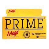 Preservativo Prime Mega Amarillo X 12