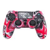 Funda Protector Silicona Control Ps4 Joystick Playstation 4
