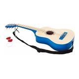 Guitarra Para Niños Azul O Roja Hape - Toy Store