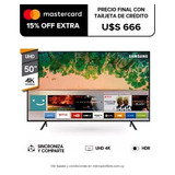 Smart Tv Led Samsung 50 4k Uhd Nu7100 Web Browser Wi Fi Pcm