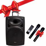 Parlante Profesional Activo 15 Kiland Bluetooth Micro Regalo