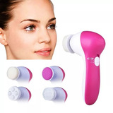 Cepillo Limpieza Facial Exfoliante Masajeador 5n1 Spa Cutis
