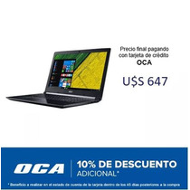 Notebook Acer I5-8250u - 6gb Ram, Disco 1tb, 15.6 , W10