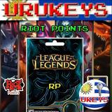 League Of Legends 4280 Riot Points Lol Rp - Urukeys