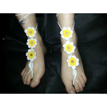 Sandalias Descalzas,crochet,ultima Moda!!!