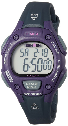 dd2c49058019 Reloj Timex Tw5m16000 Ironman Classic 30 Tamaño Mediano
