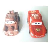 Cars Dos Autitos Mate Y Rayo        Articulo Nuevo