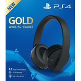 Auriculares Ps4 Play Station 4 Gold Wireless Headset 7.1 Eb