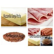 Muzzarella Panchos Hamburguesas Schneck Chorizos Jamon Queso