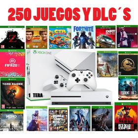 Xbox One S 1tb Nuevas + Muchísimos Juegos Sin Vencimiento!!!