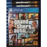 Grand Theft Auto 5 - Gta5 - De Ps4 - Fisico - Nuevo Sellado