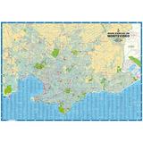 Mapa De Montevideo Urbano Y Rural (2 Caras)