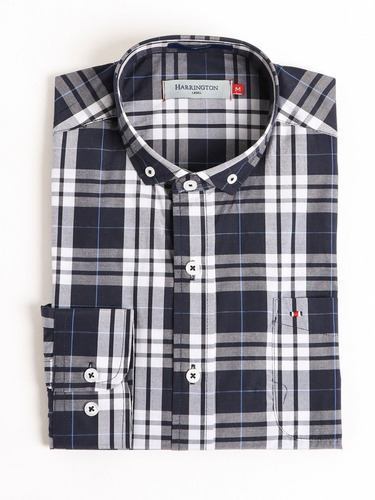 51a22cab49357 Camisa De Hombre Harrington Label 011767