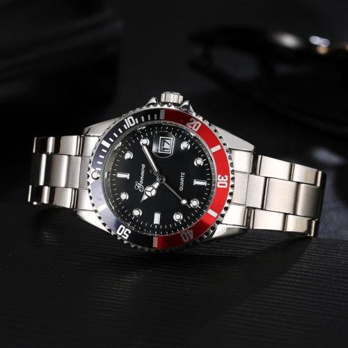 d0c213a28908 Reloj Deerfun Estilo Submariner Con Calendario En Stock