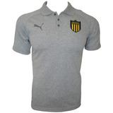 Camiseta Polo Puma Remera Peñarol Fútbol Concentración 2017
