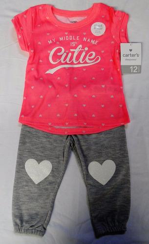 594d5f3c88b Carters Pijama Poliéster 2 Piezas Manga Corta Niña 18 Meses.   750