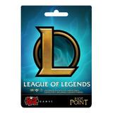 League Of Legends Riot Points Lol Rp 8900 Latino Sur Las