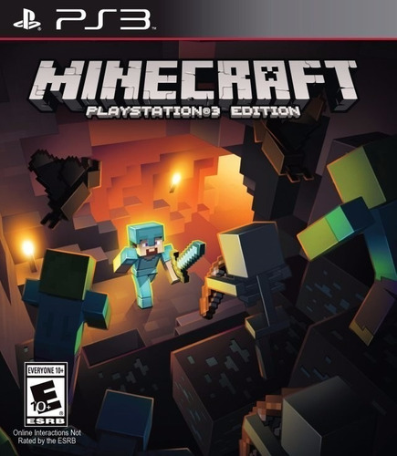 Minecraft Premium Juego Ps3 Original + Español + Online