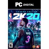 Nba 2k20 Pc Español 2020 / Legend Edición Digital Offline