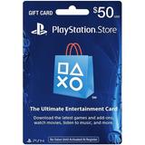 Tarjeta 50 Playstation Network Psn Usd 50 Giftcard Usa
