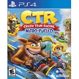 Crash Team Racing Nitro Fueled Juego Ps4 Original Play 4