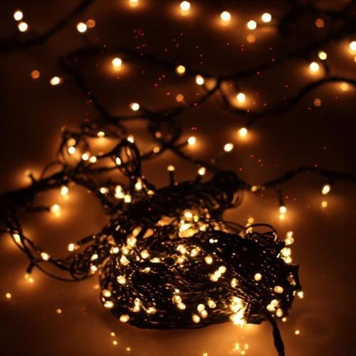 dc06ead3645 200 Luces Arroz Decoración Guirnaldas Navidad