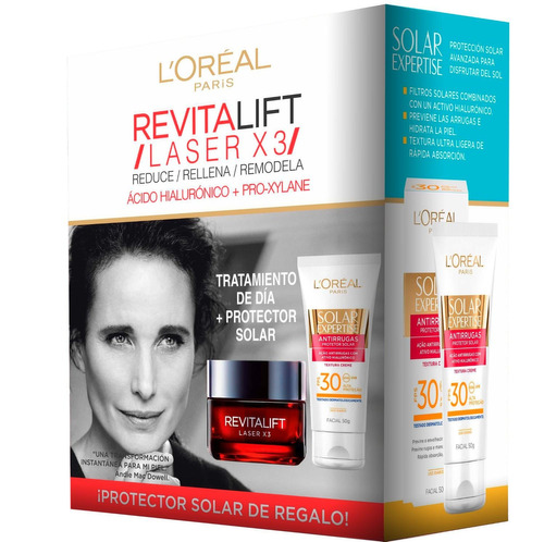 Dermo Loreal Revitalift Laser X3 + Protector