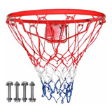 Aro De Basket Medida Oficial Red De Colores - Basquetbol
